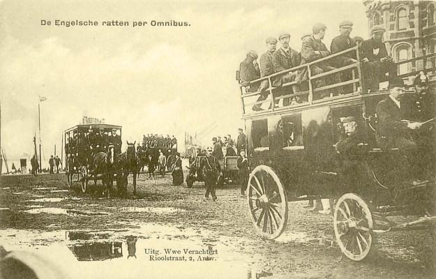 De Engelsche ratten per Omnibus. Antwerpen 1907.
