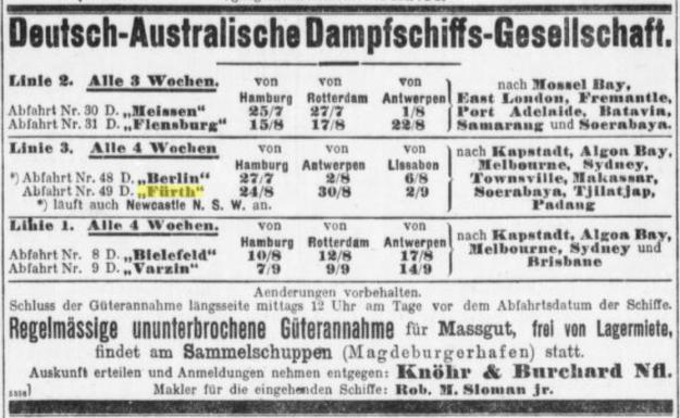 "Abfahrt Nr. 49 D ""Fürth"""