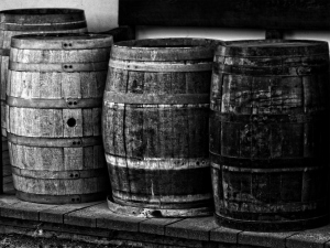 casks were used for shipping of various products
