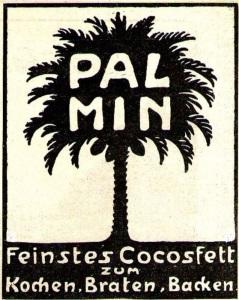 Kokosfett Palmin Werbung