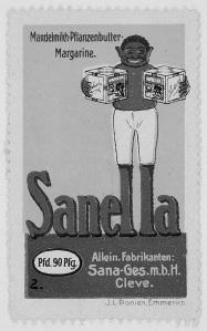 Sanella Margarine Werbung