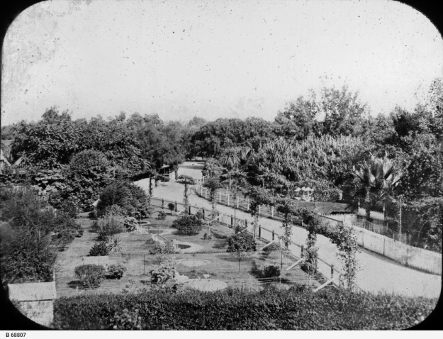 General view of the Adelaide Zoo, approx. 1910. State Library of South Australia, Ref. B 68807.