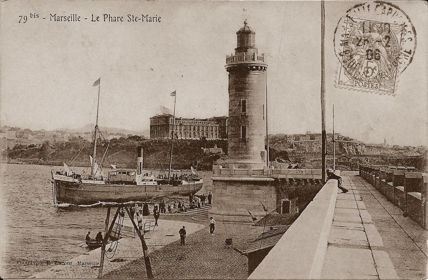 Marseille - Le Phare Sainte Marie