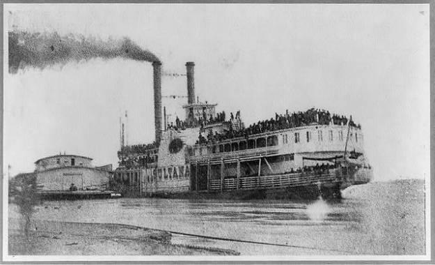 Helena, Arkansas. April 26,1865. Ill-fated Sultana
