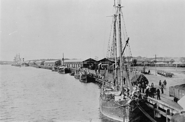 Victoria Quay, Fremantle, approximately 1907, State Library of Western Australia, 129205PD