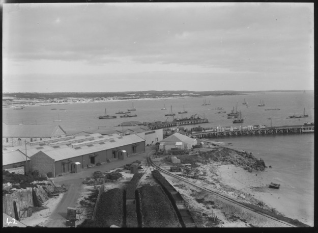 Fremantle Harbour, ca. 1910, State Library of Western Australia, 230753PD
