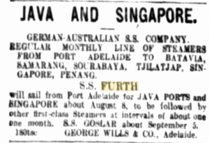 George Wills & Co. Adelaide, Advertisment, The Register July 1910