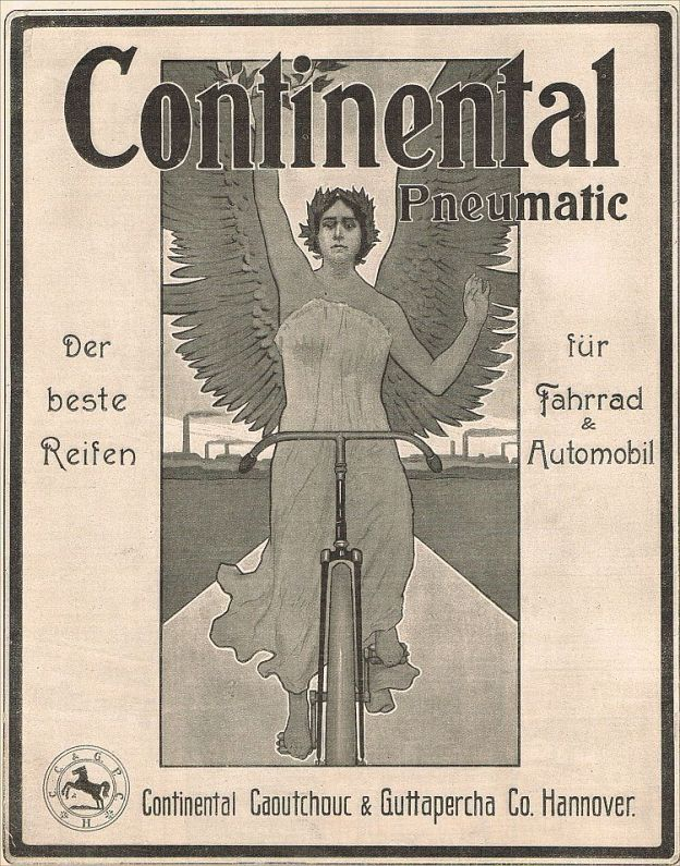 advertisement, continental, guttapercha, 1903