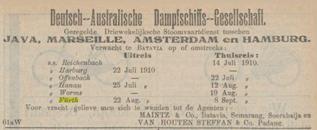 Advertisement Maintz and Co.