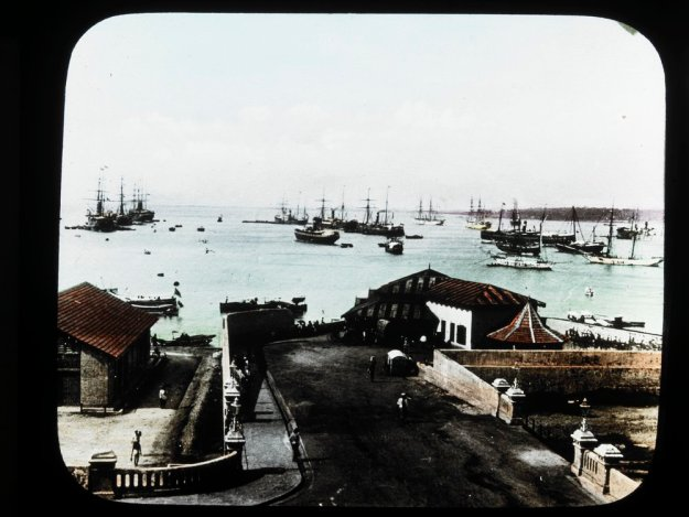 Colombo harbour 1915