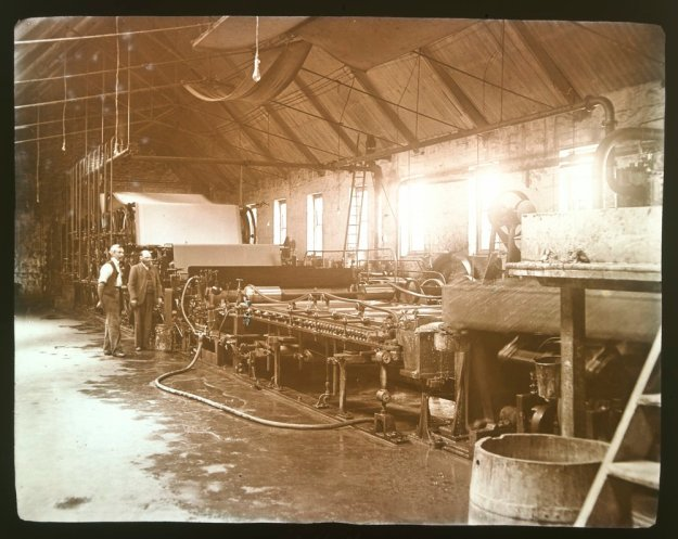 Paper making machine, Barwon Paper Mill, Fyansford