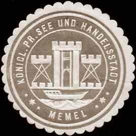 City of Memel, seal