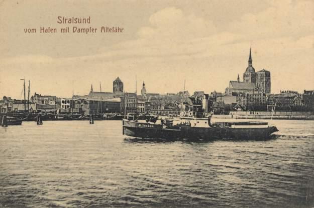 Stralsund port, about 1900