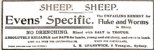 sheep remedy 1912
