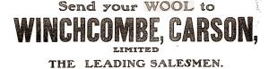 wool sales broker Winchcombe Carson