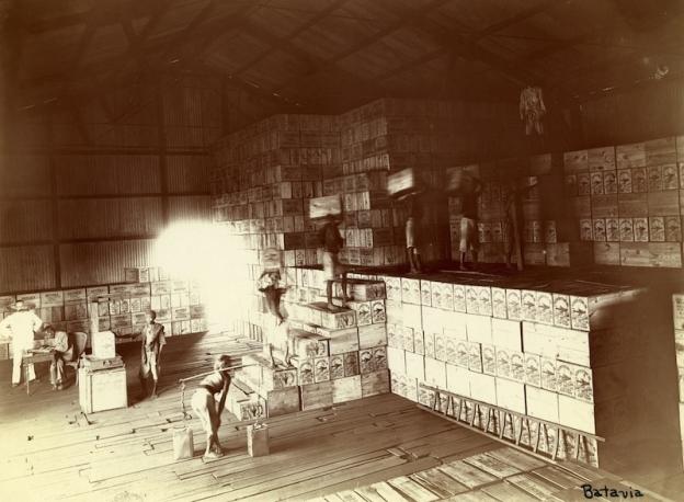 kerosene depot Batavia