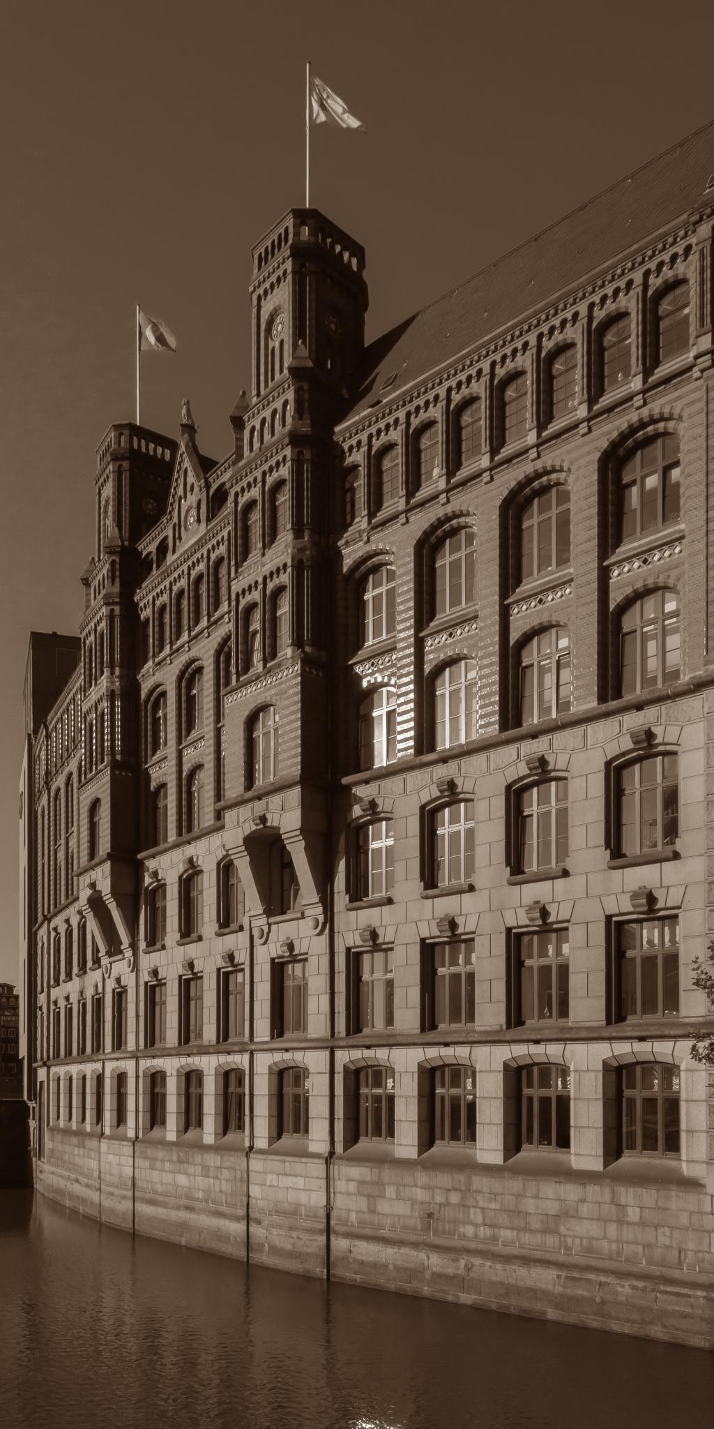 Der Laeiszhof in Hamburg