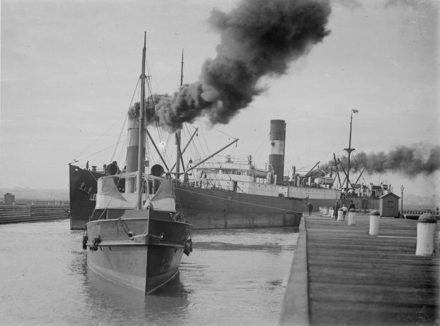 Victoria Dock, Melbourne, 1911