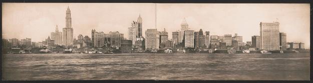 New York Skyline 1911