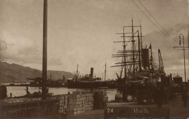 Santa Cruz de Tenerife, harbour
