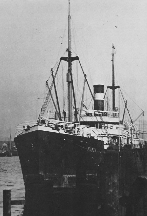 German Australian liner FURTH, collection A. Kludas