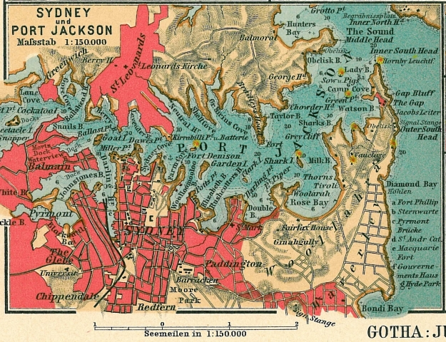 Sydney, Port Jackson, 1906