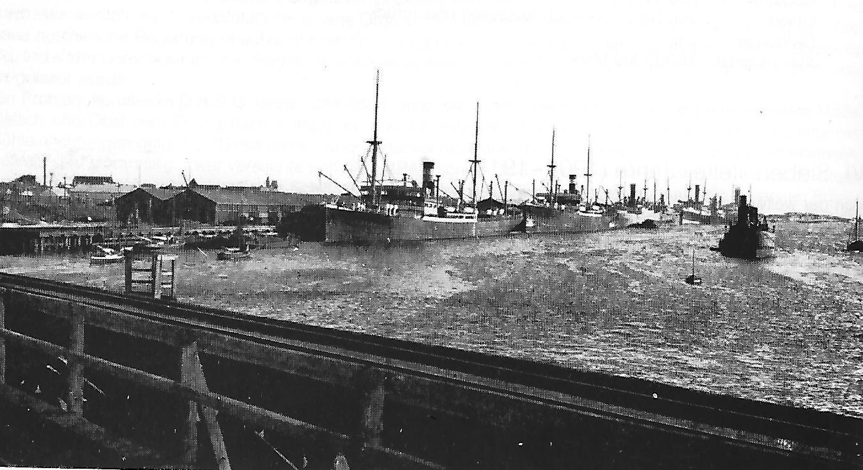 Fremantle harbour, 1910