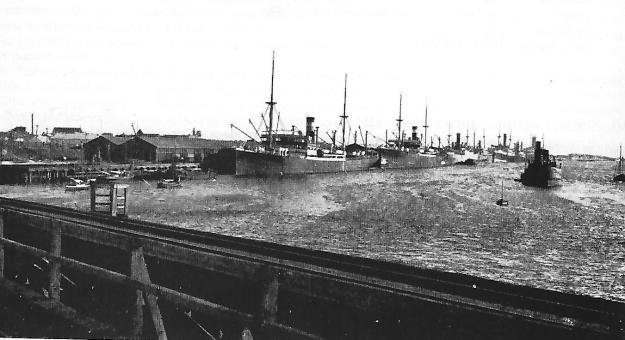 Fremantle harbour, 1910