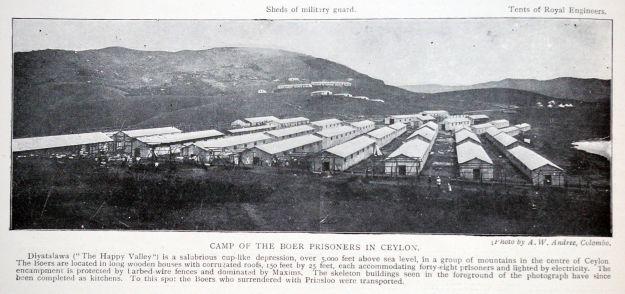 Diyatalawa Camp Ceylon