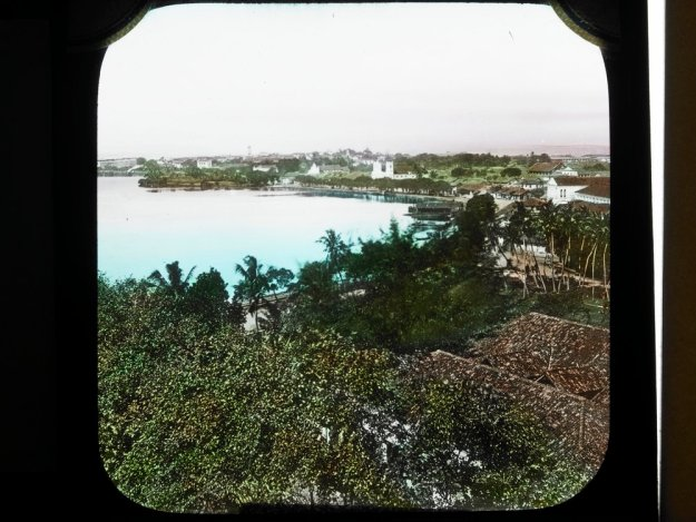 bay of Colombo, Ceylon 1915