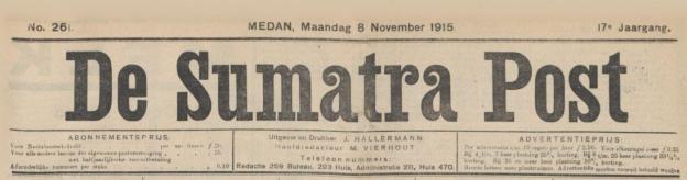 De Sumatra Post, Medan
