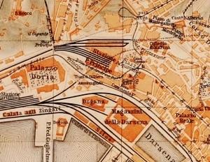 Genoa, stazione piazza principe 1906