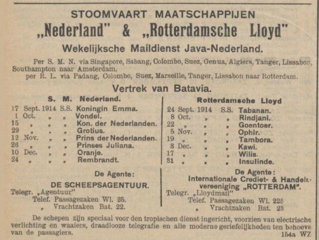 Nederland, Rotterdamsche Lloyd