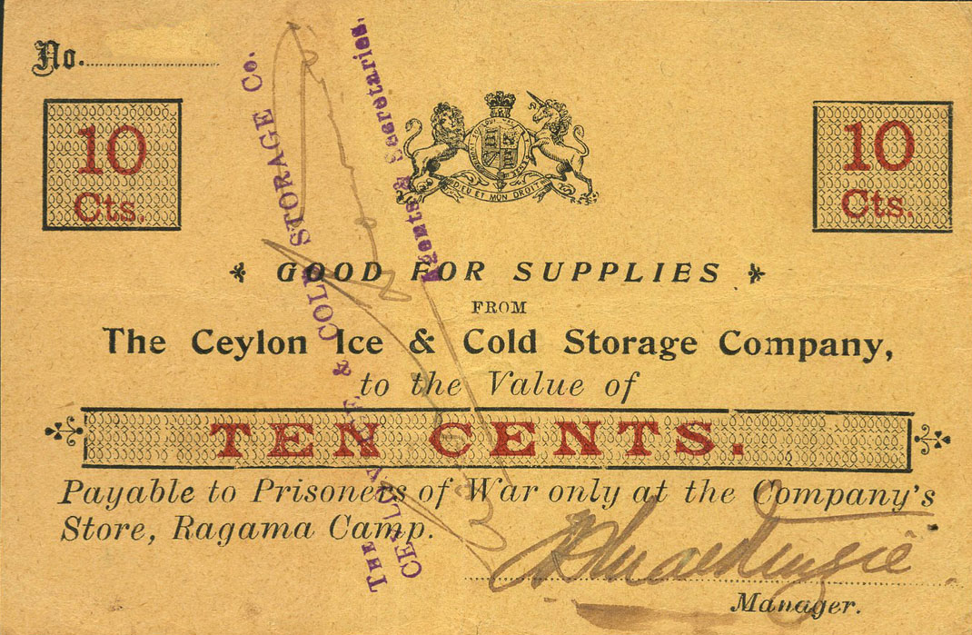 Ragama Camp Ceylon
