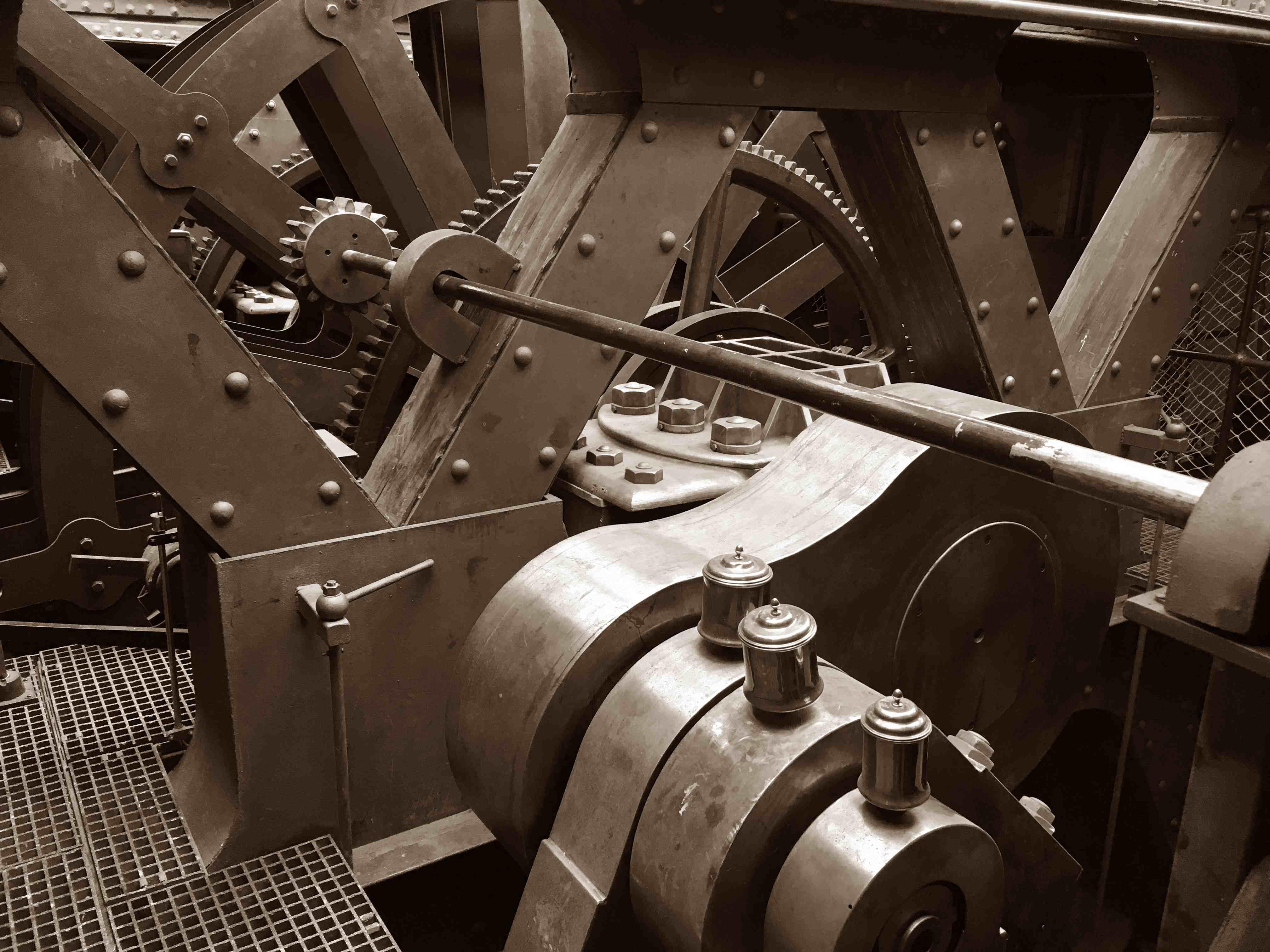 SS Great Britain Bristol, engine room