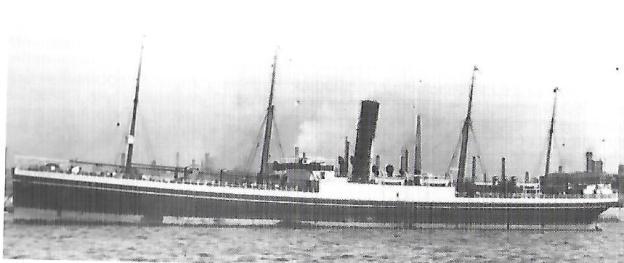 Steamship Irak, Mandasor, Belgia, Huntstrick