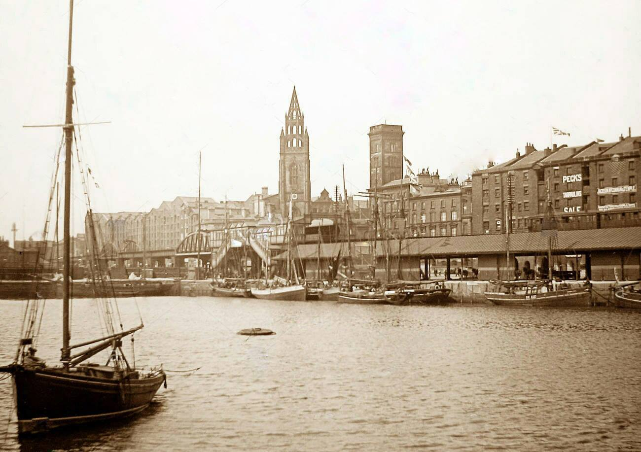 Liverpool, George's Dock, 1897