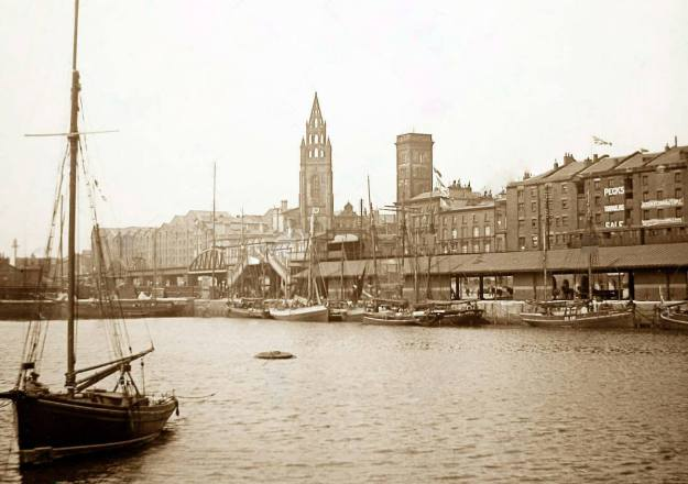 Liverpool, George's Dock, 1897