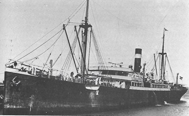 SS Plauen, German Australian Line