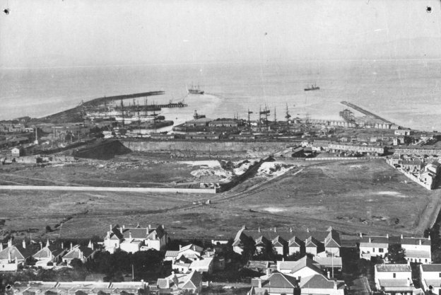 Cape Town harbour 1890