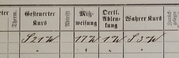 Logbook Furth 1914