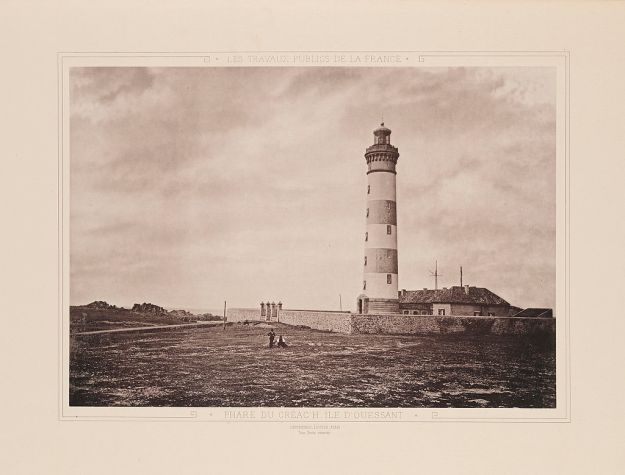 Ushant, creach lighthouse 1883
