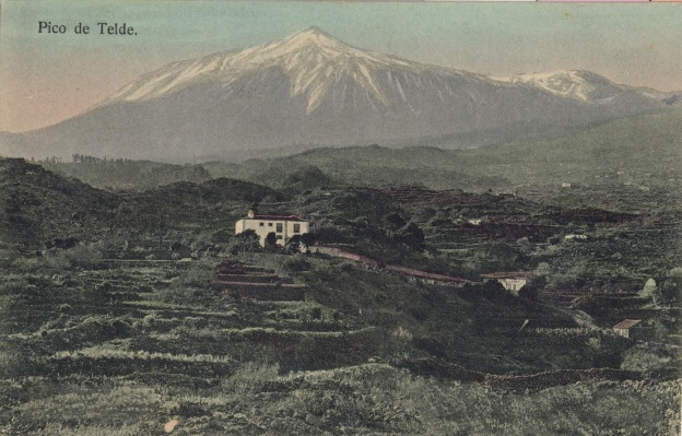 Teide Teneriffa um 1900