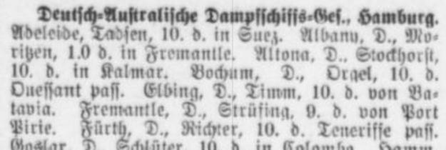 Altonaer Nachrichten, 12. Mai 1914, Ausschnitt