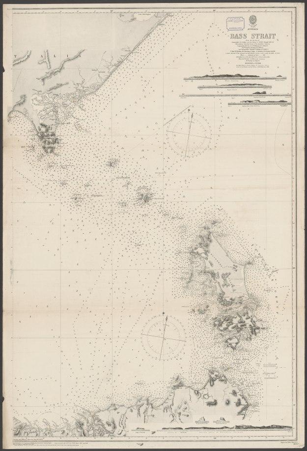 Bass Strait 1898 Eastern entry