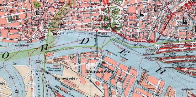 Blohm & Voss, Hamburger Hafen, 1911