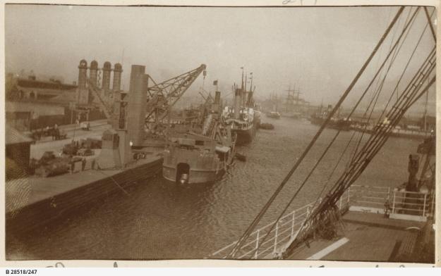 Yarra river, Melbourne, 1914