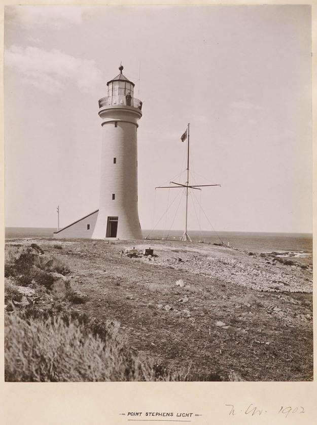Point Stephens Light 1902