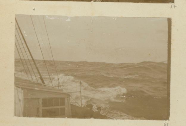 Hoher Seegang, ca. 1914