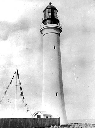Split Point lighthouse (Eagle Nest Point) 1917